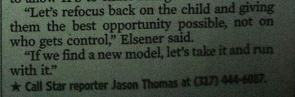 Board of Education Member quote