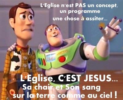 L'Eglise n'est pas un concept
