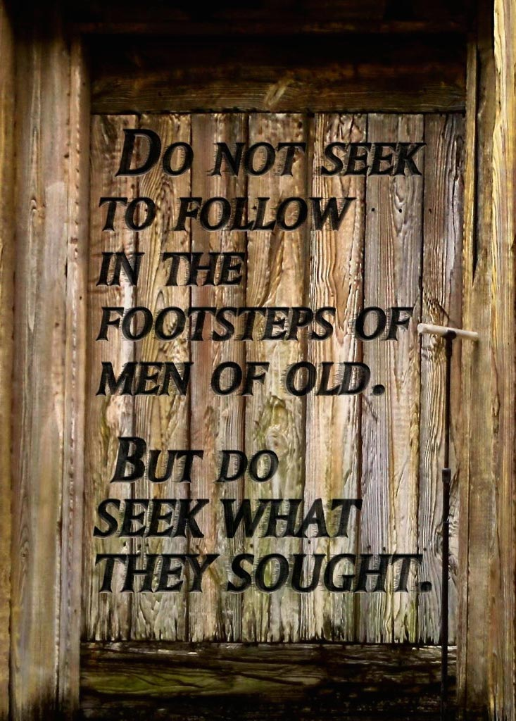 Seek What They Sought #2