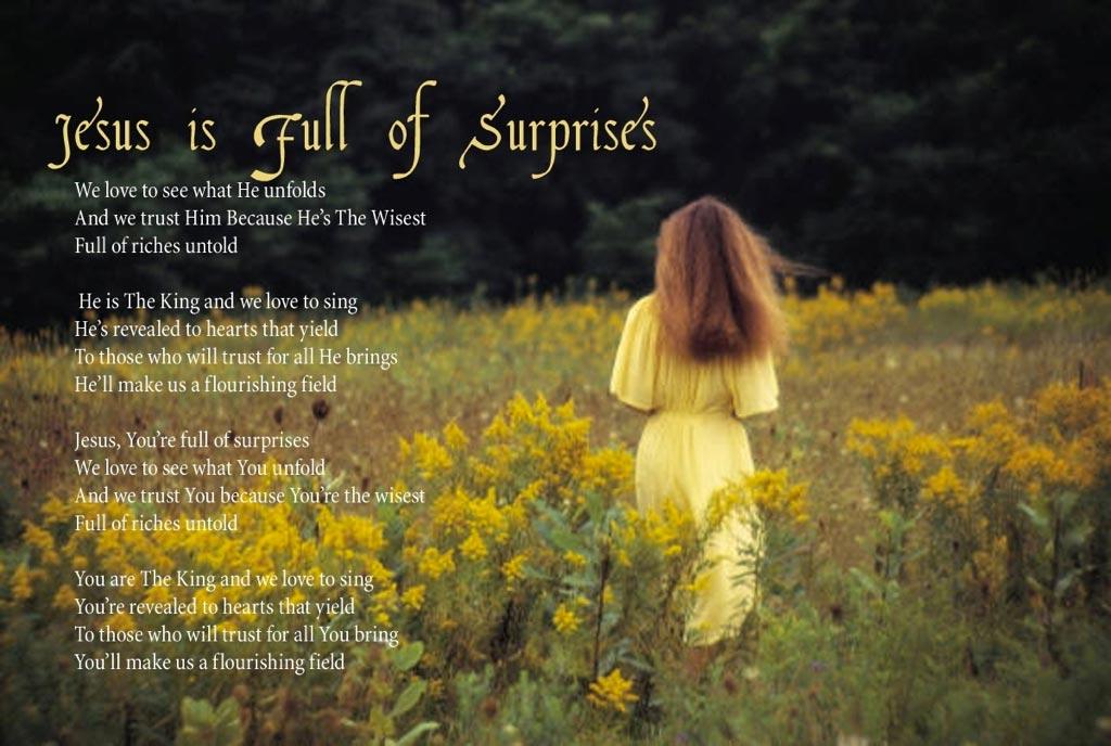 Jesus is Full of Surprises