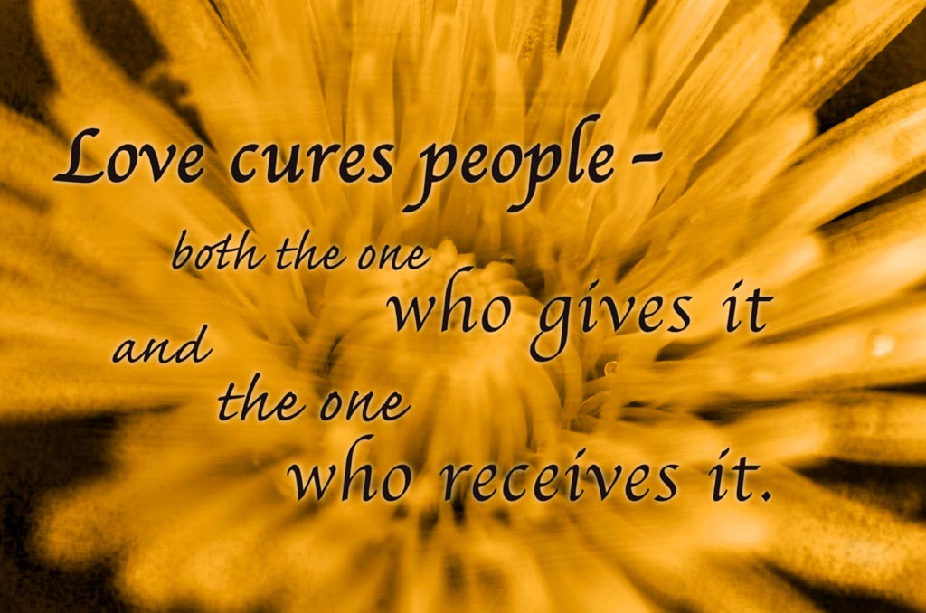 Love Cures!