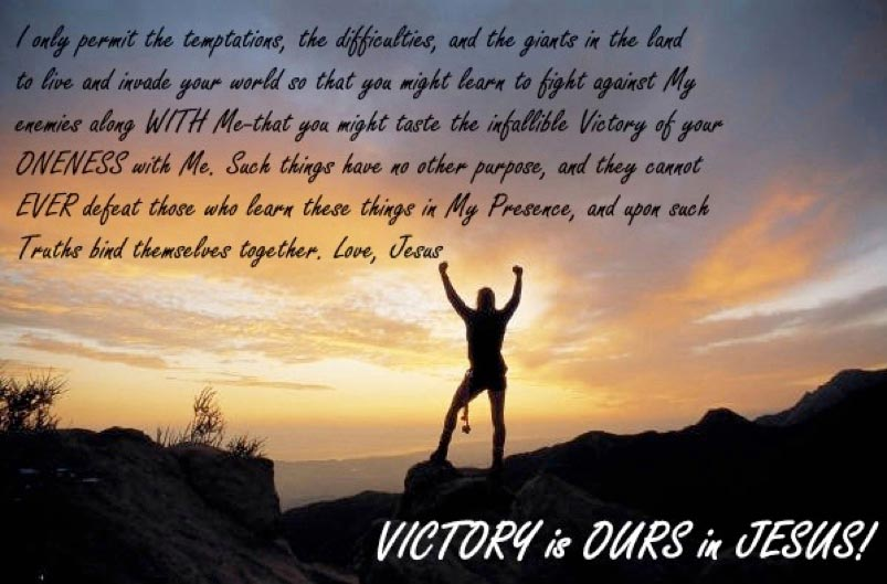 His Victory is Ours