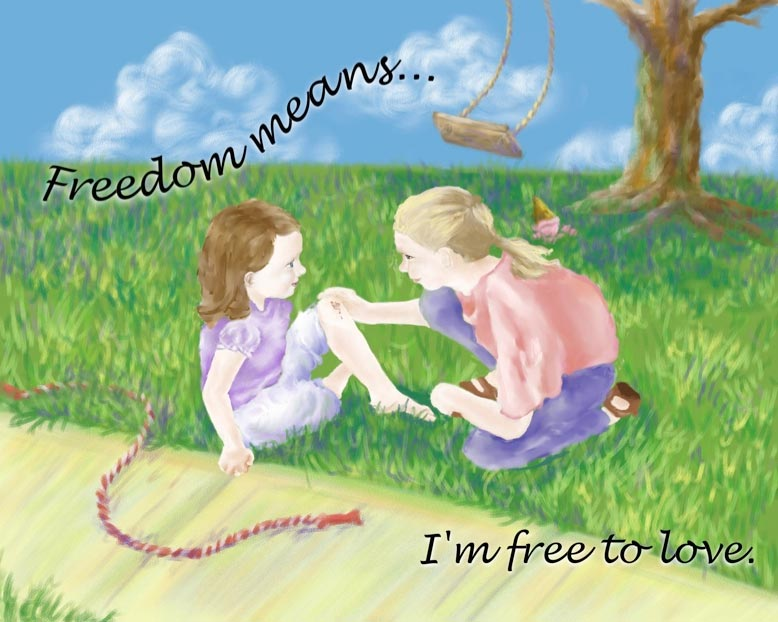 Freedom... FREE TO LOVE!