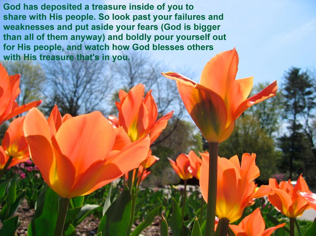 His Treasure in You