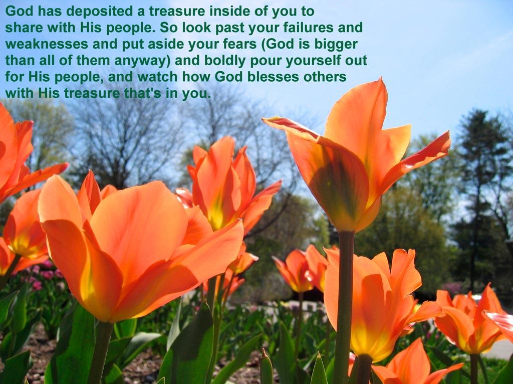 His Treasure in You