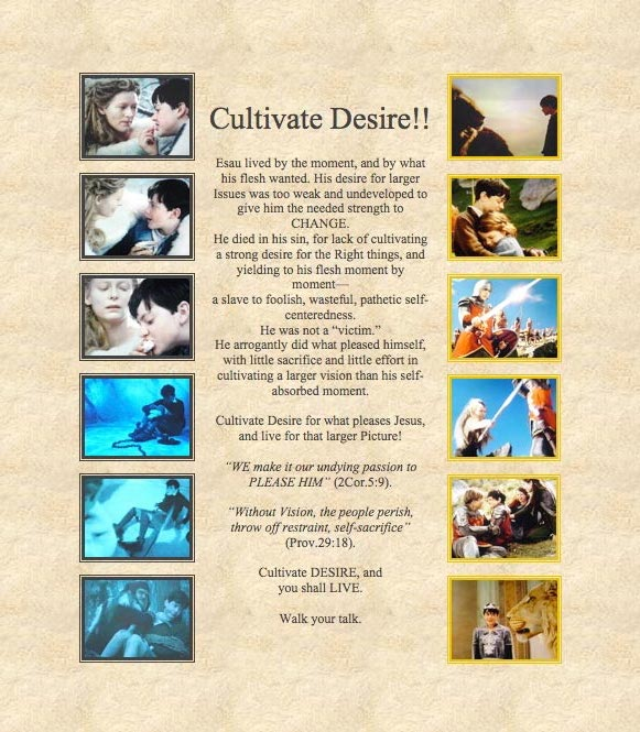 Elevate and Cultivate DESIRE!