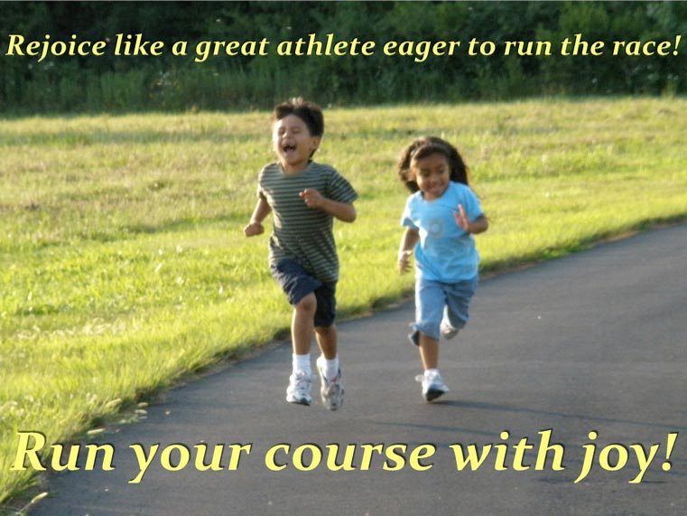 Like a Champion EAGER TO RUN THE RACE!