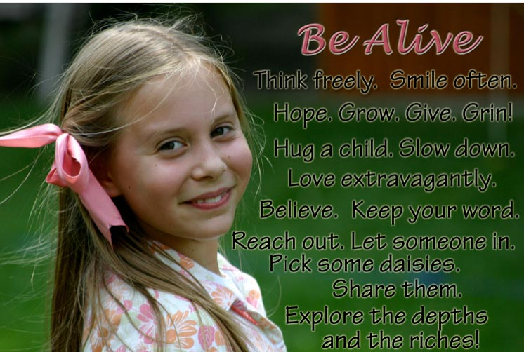 Be aLIVE!