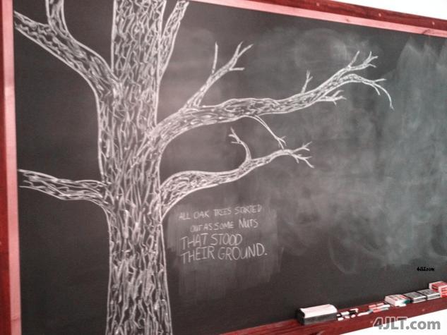 Chalkboard Wisdom... You? :)