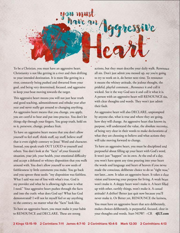 An Aggressive Heart