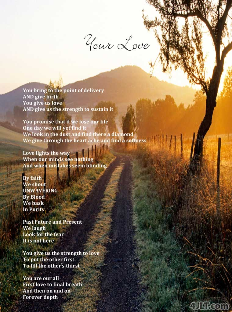 Your Love - A Poem